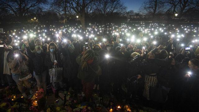 акция памяти в Лондоне