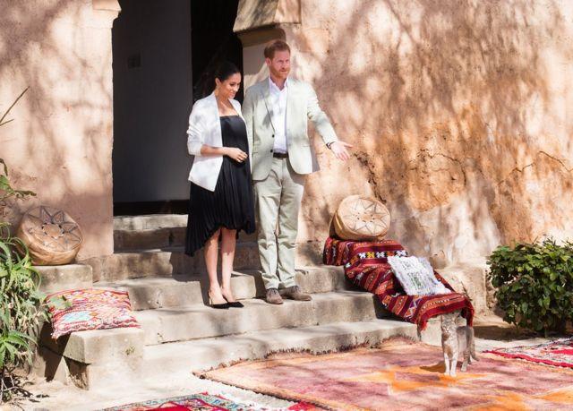 دوق ودوقة سيسكس في المغرب