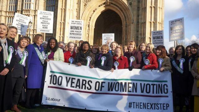 100 років жіночому голосуванню у Британії