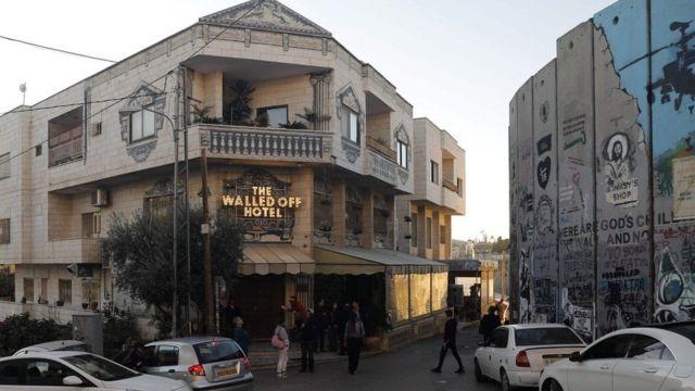 Banksy Walled Off oteli