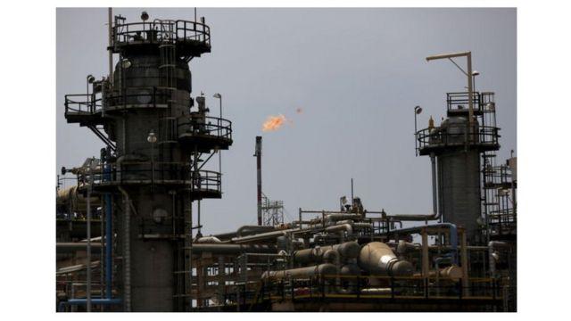 Production de pétrole en Libye