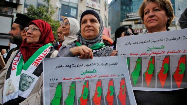 فلسطین، مظاہرے