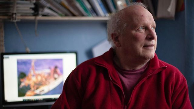 Douglas Robertson, hoje com 65 anos
