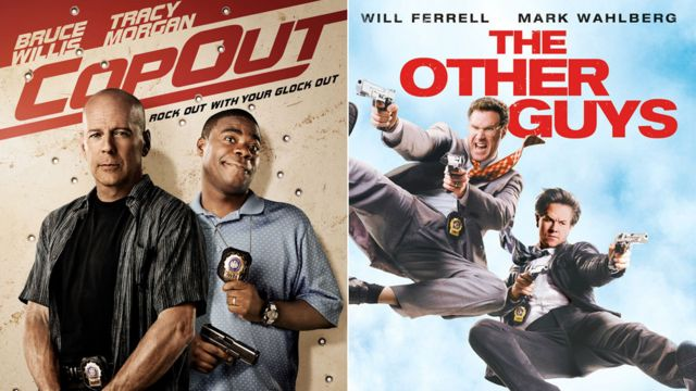 Afiches de Cop Out y The Other Guys