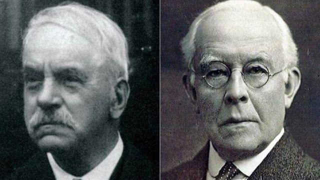 約翰·李斯特(John Lister, 左)和亞瑟·波雷爾(Arthur Burrell, 右)