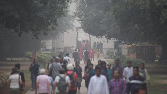 смог в Дели, Индия