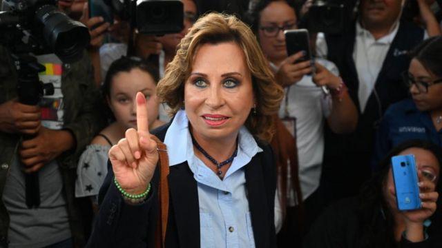 Sandra Torres.