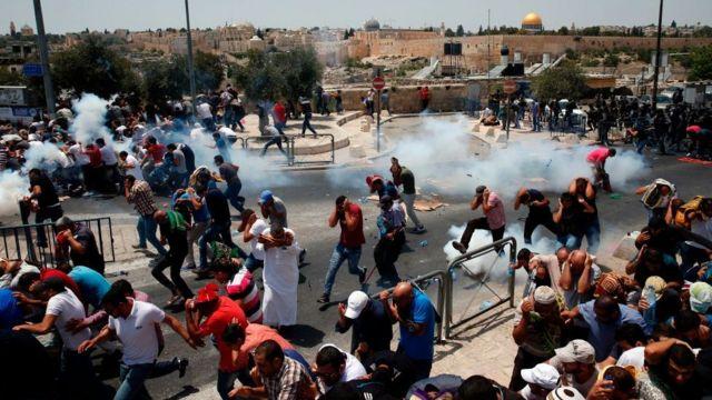 İsrail Mescid-i Aksa olayları