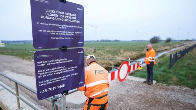 Almanya - Danimarka arasında Covid-19 nedeniyle kapatılan sınır kapılarından biri 30 Nisan'da açılmıştı