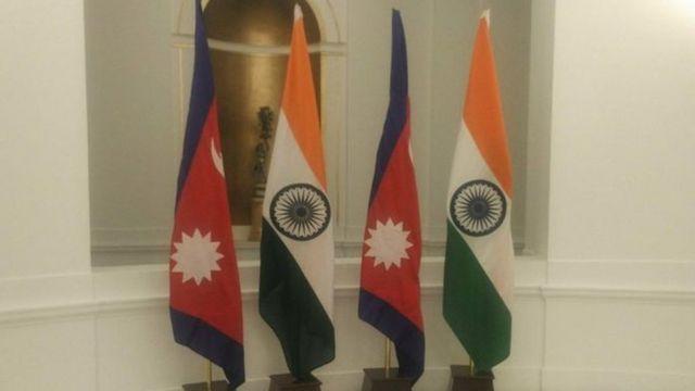 नेपाल-भारत झण्डा