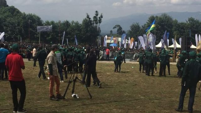 Sherehe za kuwapatia sokwe majina zafanyika Rwanda