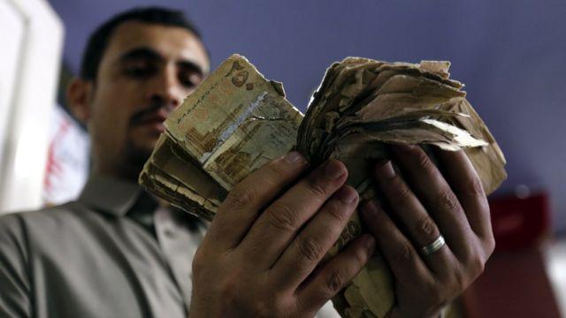 Yemen riyali, bir yıl içinde yüzde 50 değer kaybetti.