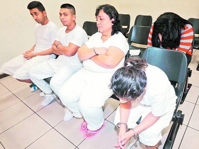Cinco de los condneados en el caso Viudas negras.