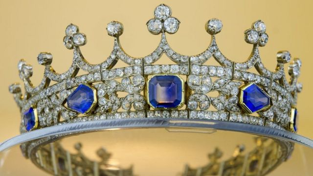 Свадебная корона королевы Виктории