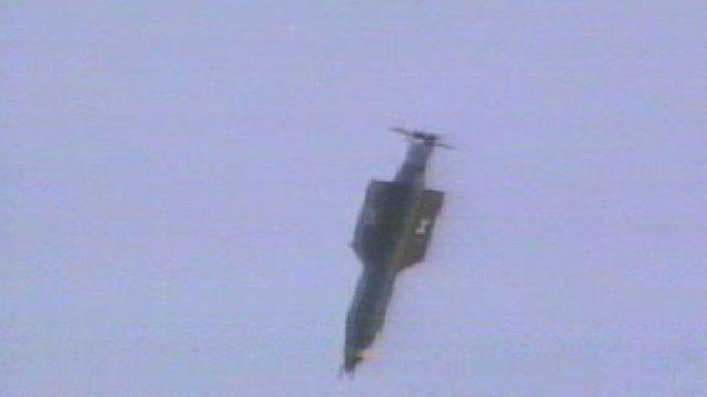 9 bin 797 kilo ağırlığındaki GBU-43 bombası daha önce hiç kullanılmadı