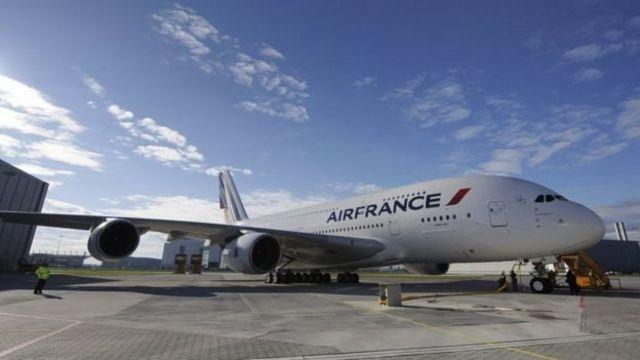 هواپیمایی فرانسه مسیر پرواز خود را به ژاپن تغییر داده است