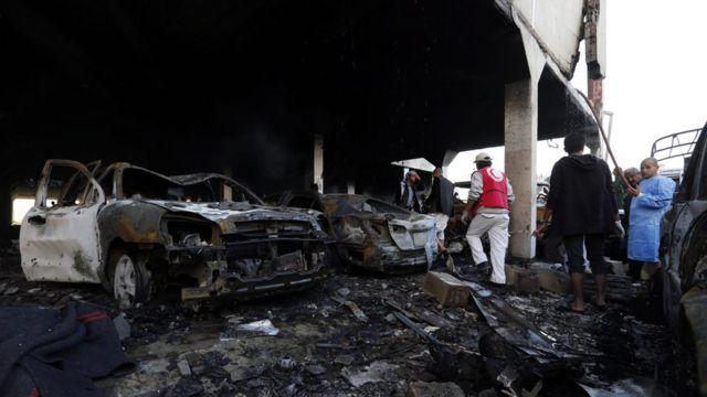 Air Strike in Yemen
