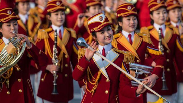 ઉત્તર કોરિયાનું મહિલા બેન્ડ