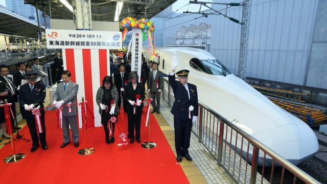 2014年在東京舉行的新幹線開通50週年慶祝活動