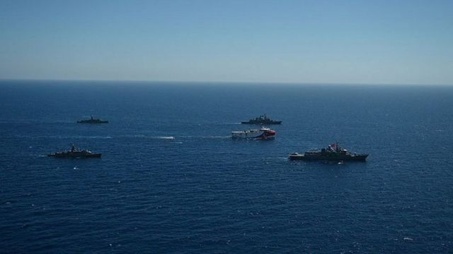 فرانسه اکتشافات انرژی ترکیه را در آبهای مورد مناقشه مدیترانه شرقی انتقاد کرده است