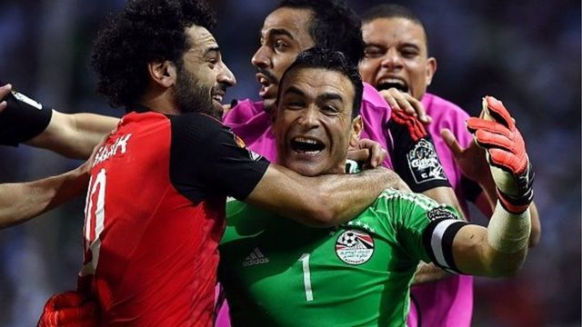 Mohamed Salah et ses coéquipiers joueront dimanche la 9e finale de l'Egypte en Coupe d'Afrique des nations.
