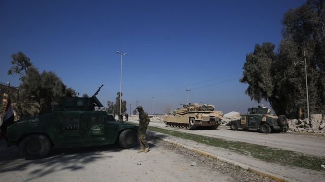 road to mosul airport
