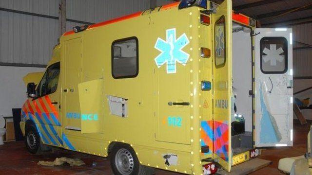 Fake ambulance