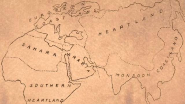Heartland euroasiático.