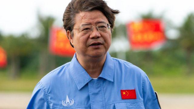 Pei Zhaoyu, subdirector del Programa de Exploración Lunar de la Agencia Espacial de China.