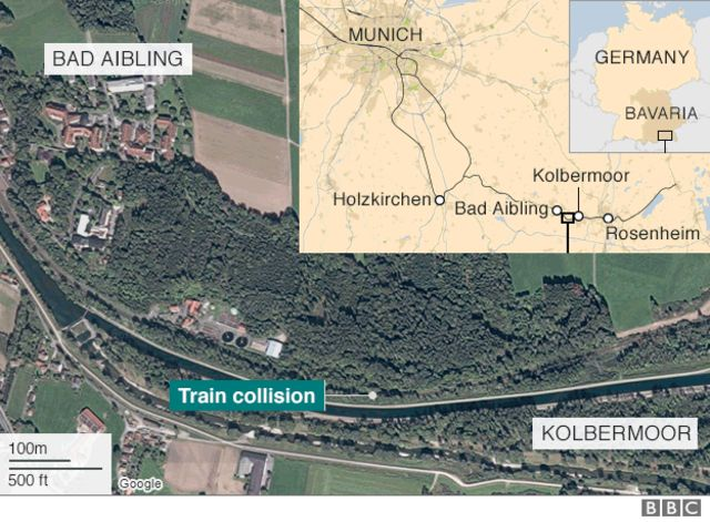 Germany train crash: Controller 'distracted by computer game'