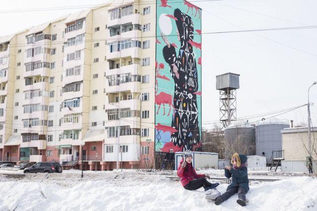 Улица в Якутске