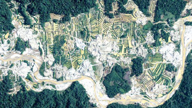 Minería ilegal en la región de Madre de Dios