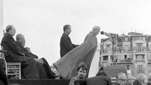 Станислав Дзивиш и Иоанн Павел II