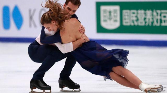 Gabriella Papadakis y Guillaume Cizeron