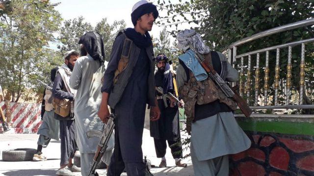 Талибы в Газни