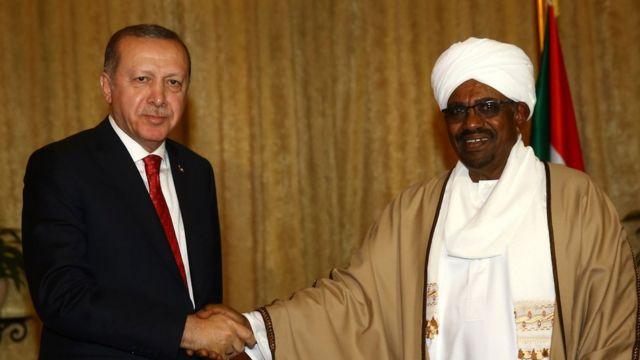 Cumhurbaşkanı Erdoğan 24 Aralık'ta Sudan Devlet Başkanı Ömer el Beşir'le görüştü.