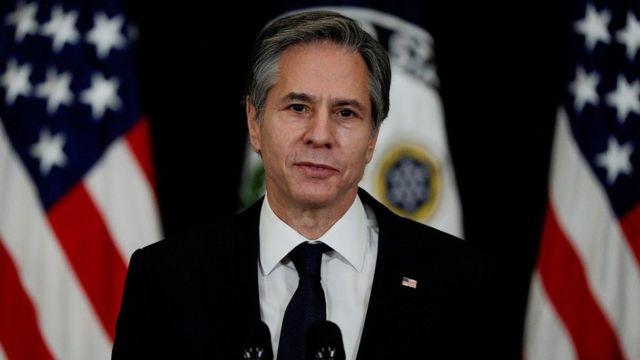 US Secretary of State Anthony Blinken (file pic)