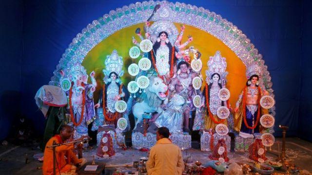 इलाहाबाद में दुर्गा पूजा