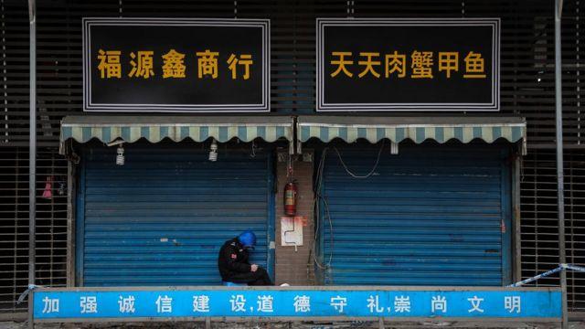 Mercado molhado de Huanan