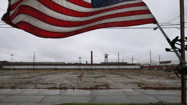 オハイオ州ウォーレンの閉鎖工場