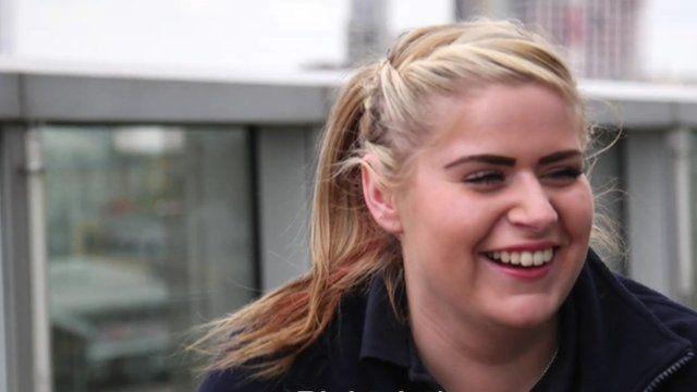 Apprentice Hayley Oakhill