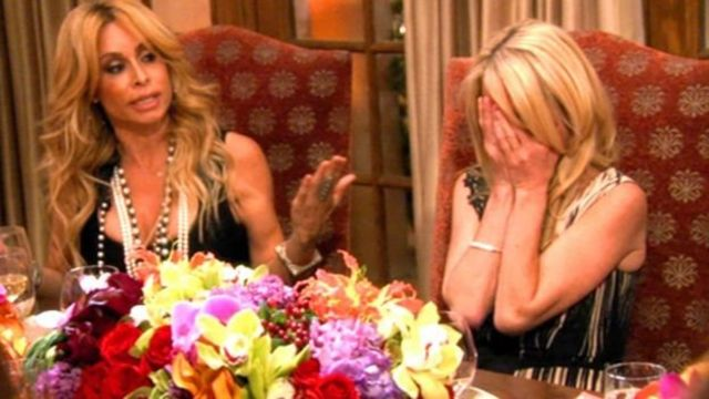 """Cena de """"The Real Housewives of Beverly Hills"""""""