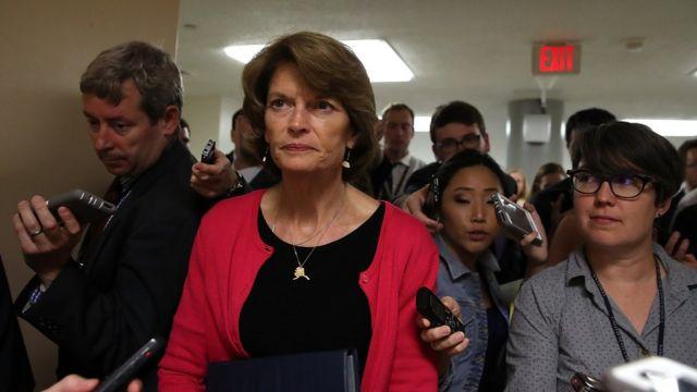 La senadora por Alaska, Lisa Murkowski.