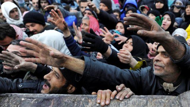 نازحون من حلب