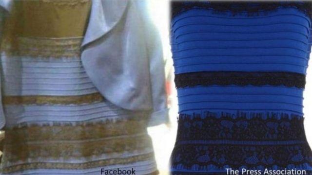 नीली सफ़ेद ड्रेस