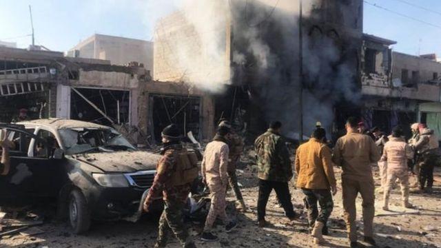 Ataques en el norte de Irak
