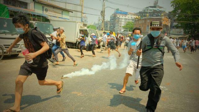 ပြည်သူတွေအပေါ်အကြမ်းဖက်လို့ တပ်မတော်ကို အကြမ်းဖက်အဖွဲ့အစည်းအဖြစ်ကြေညာတာလို့ CRPH ကဆို