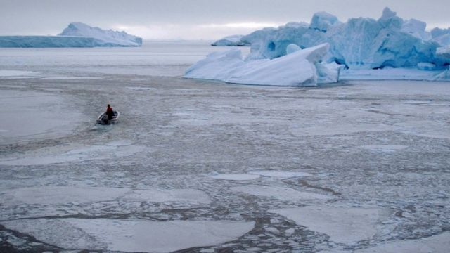 Morski led na severu Grenlanda