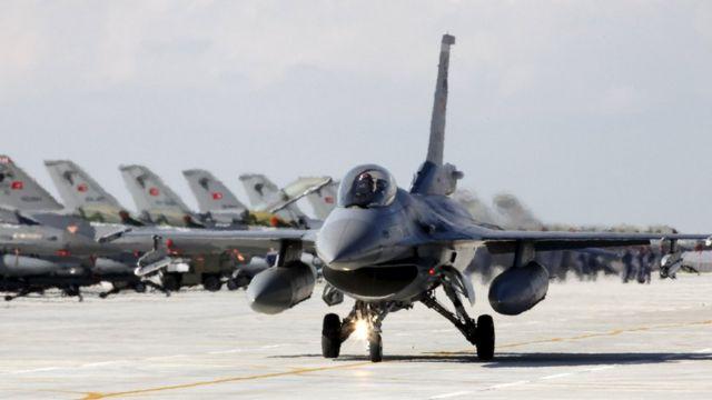 Türk F16'ları
