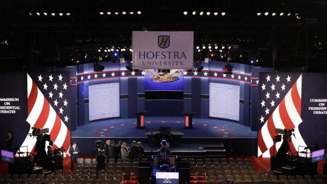 Escenario del debate presidencial